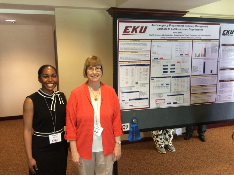 "CSH Scholars Day 2017 Shira Jones research poster entitled ""An Emergency Prepare"